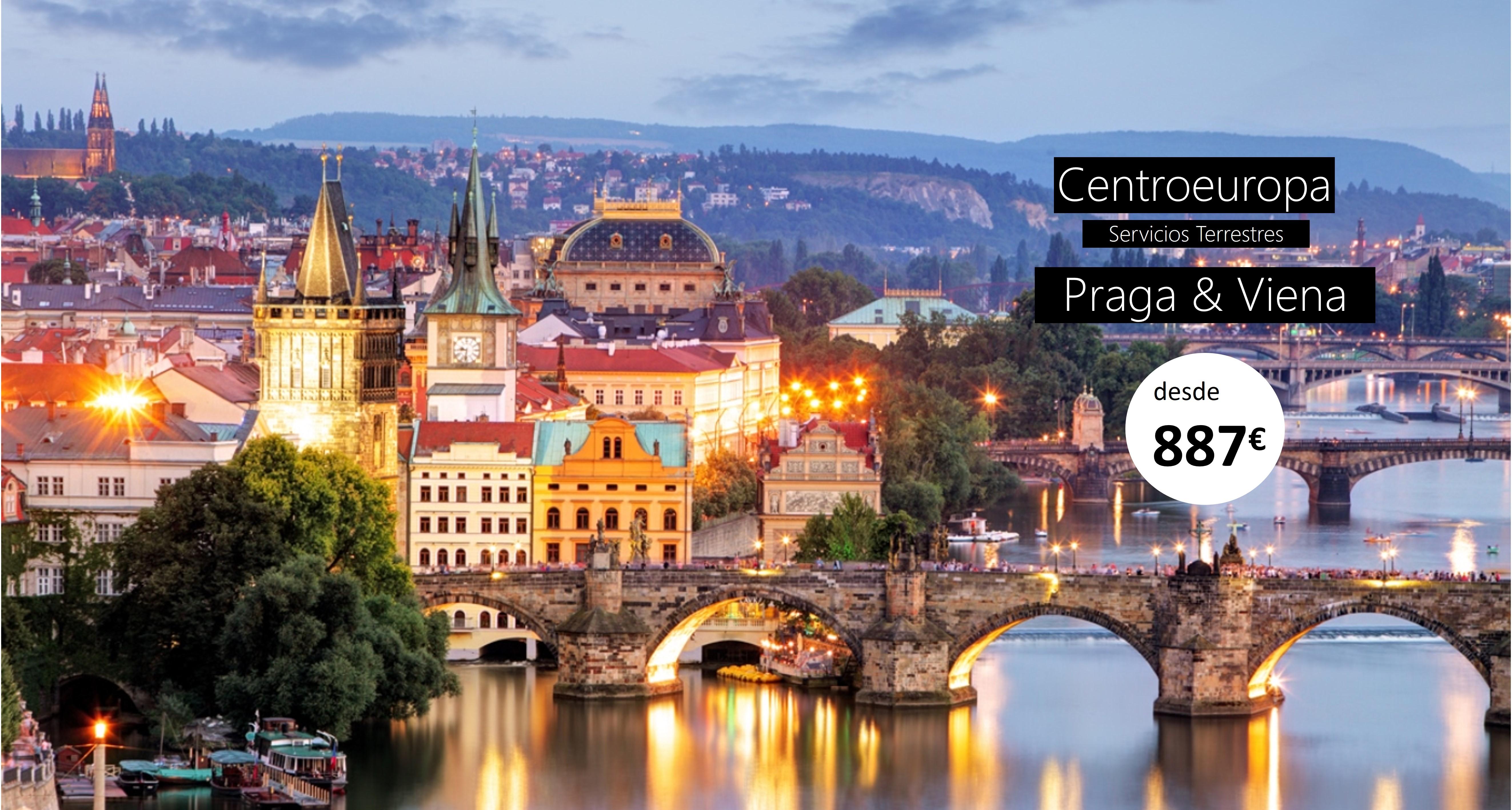 CENTROEUROPA - Praga&Viena